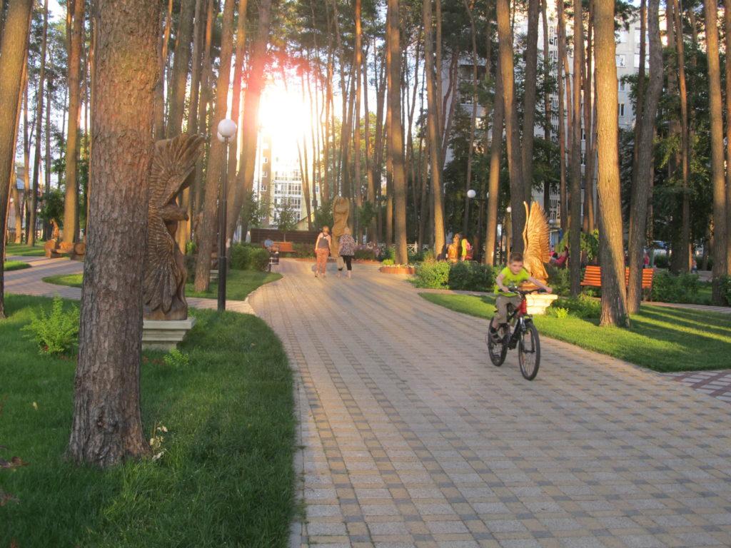 Парк Покровский Ирпень